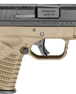 SF XDS ESSENTIALS 9MM FLAT DARK EARTH